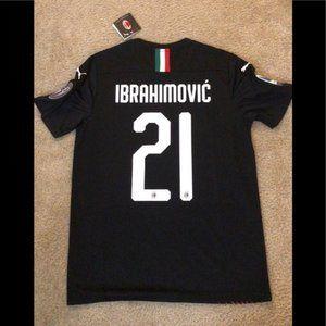 NEW Ibrahimovic AC Milan Third 19/20 Jersey